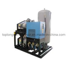 Pompe à air de compresseur d'air à soufflage sans bouteille d'huile sans pétrole (Ww-0.55 / 35)