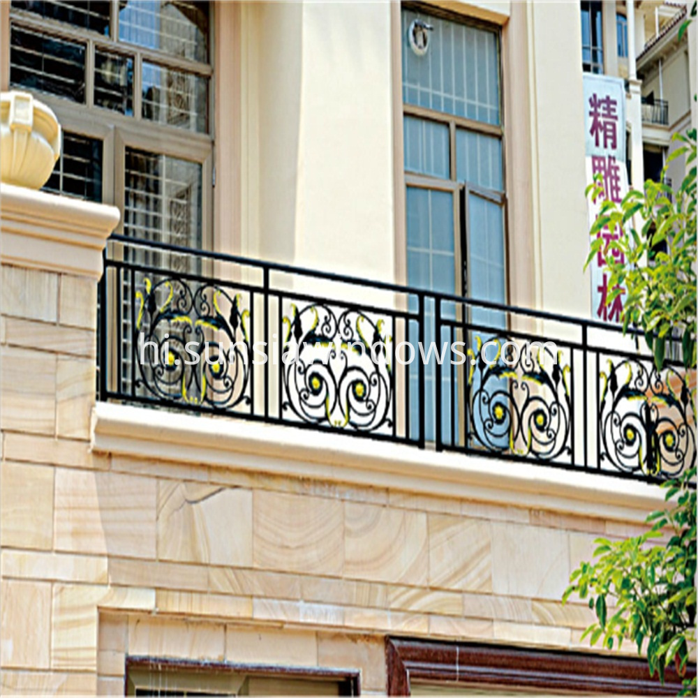 Powder Coated Aluminum Balcony Balustrade