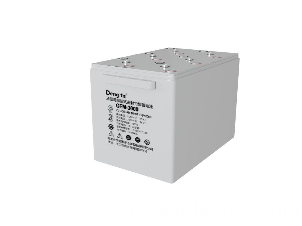 Lead Acid Battery, Valve Regulated Sealed Battery, 2V 3000Ah Battery
