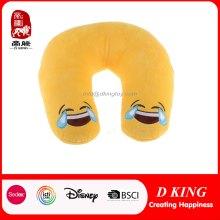 Nuevo Diseño Emoji Cuello Almohada Plush Toys