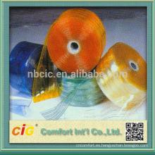 Película impresa coloreada del PVC del rollo para los muebles