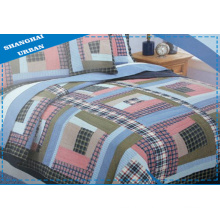 3 PCS Cotton Bedding Patchwork Quilt