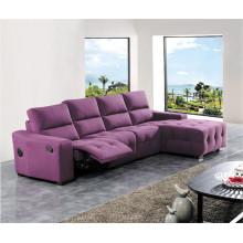 Canapé de salon avec canapé moderne en cuir véritable (415)