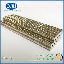 N42 Starke Scheiben-Erdmagnete für elektrische Bauteile