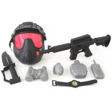 Top Plastic Weapon Military Toy para niño