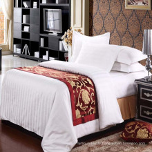 100% Polyester Customized Hotel Bed Scarf (DPH6199)