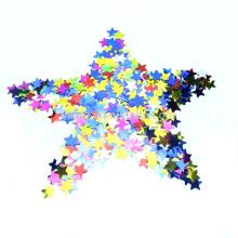 Подгонянный металлический форме стол конфетти с Multi-цвет звезды