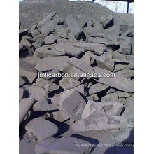 anode carbon block for copper smelting