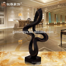 Vintage home decoration various style black wind shape resin crafts for sell