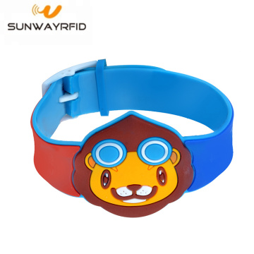 13,56 MHz Cartoon benutzerdefinierte PVC RFID-Armband