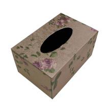 Blumen-Design Tissue Box für Hotel