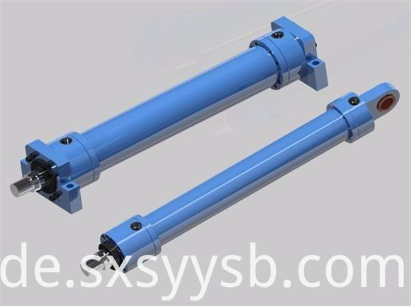 cross hydraulic cylinder