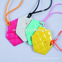 2015 new arrive silicon plastic book bag tags