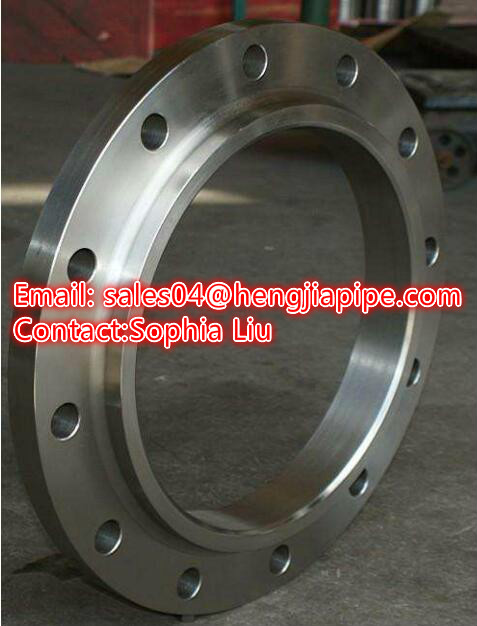 raise face RF flange