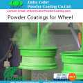 Anti Gassing powder paint coatings for cast iron