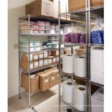 DIY cromo exhibición del metal para el almacén y el supermercado (CJ15035180A5C)
