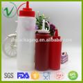 Bouteille de qualité alimentaire pressée à vide Conteneur en plastique LDPE pour emballage de sauces