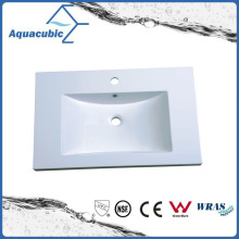 Single Bowl Artificial Stone Polymarble Basin