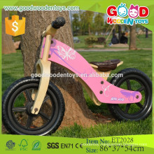 2015 high quality lovely wooden walk bike, walk bike for wholesale