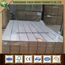 Slat Wall Aluminum Insert MDF Board From China