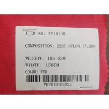 100% Polyester Nylon Talson Stoffe