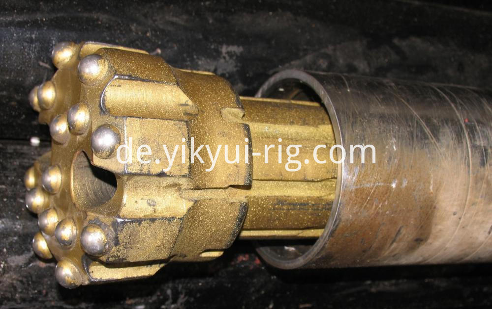 150m Dth Drilling Doublewall Rods Dth Bit