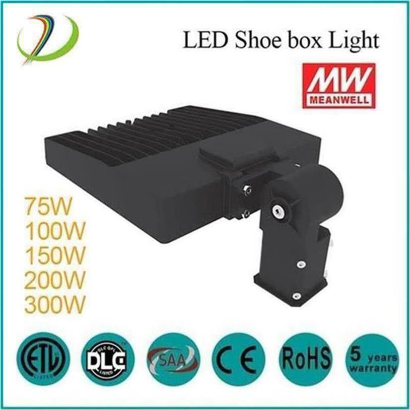 MeanWell-drivrutin 100W Led Shoebox