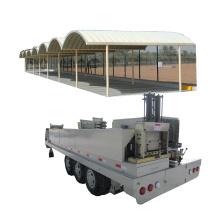 SABM120 600-305 K Q span curve roof galvanized iron parking ground/area/lot roof building machine