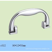 Silver Plastic Handle for Light Aluminium Case C012