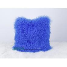 Großhandelstibetanische mongolische Schaf-Haut-Pelz-Wurfs-Kissen