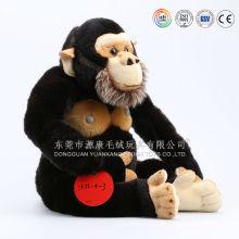 Brinquedos de orangotango de pelúcia por atacado barato & gorila de pelúcia recheado para venda