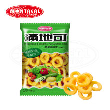 Delicious Flavored Crispy Healthy Snacks Puffed Food