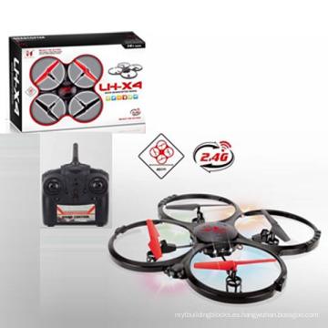 Aprobación En71 4 canales 2.4G 4 ejes RC Drone con cargador y luz de flash (10192217)