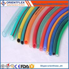 Tuyau renforcé par fibre de PVC de vente directe d'usine