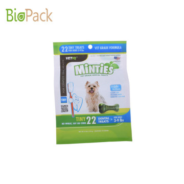 Biodedradable Plastic Stand Up Pouch Pet Food bag With Printed Customerized