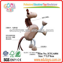 Educational Animal Toys - Wooden Horse