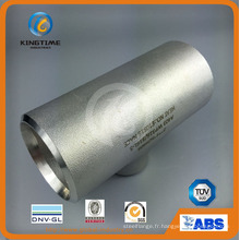 Té réducteur en acier inoxydable. Raccord de tuyau Wp316 / 316L Ss (KT0326)