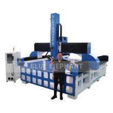 Foam Cutting CNC Router / 4 Axis 3D CNC Milling Machine for EPS, Styrofoam, PU, Polystyrene, Polyurethane Foam