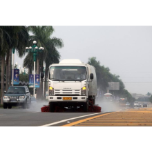 HOWO Vacuum Suction Dust Collection Truck untuk Kamboja