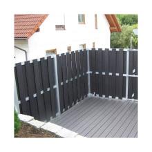 Hot Sale WPC Basic Fence Wood Plastic Composite Garden Fence