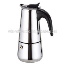 6 Cup Moka Espresso Stainless Steel Portable Coffee Maker