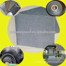 Tissu en fibre de verre pour membrane imperméable au bitume