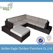 Nice cheap L shape outdoor sofa