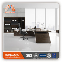 DT-12 wooden office desk stainless steel table base office executive desk
