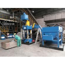 Máquina automática de briquete de velocidade para cavacos de alumínio