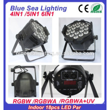 4in1 / 5in1 / 6in1 18pcs 12w RGBW 4in1led пар этап свет крытый