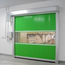 Industry Automatic PVC Fabric High Speed Rolling Door