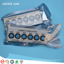 Factory Supply 10%-60% paper cobalt free humidity indicator card for Packing