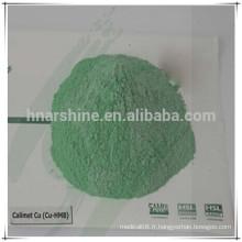 Nouveau produit chlorure de cuivre tribasique alimentation animale 50% 58% 14% Hydroxy trace minéraux Chlorure cuivrique basique