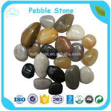 Piedra de guijarros de mármol blanco puro